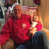 Grandpa babysitting for Emma's baby - New Years Eve