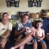 Three generations of the boys!!