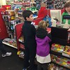 getting our candy for movie night
