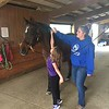 Friday horse back riding lesson - Emma's passion