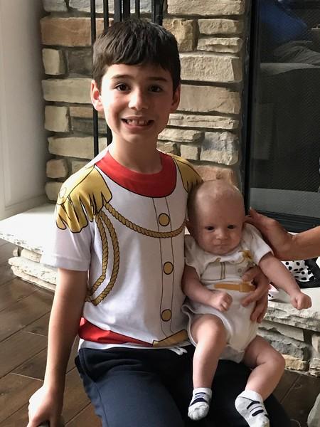 Prince Nate and Prince Liam