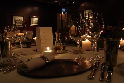 Van Berckel Lounge, Diner