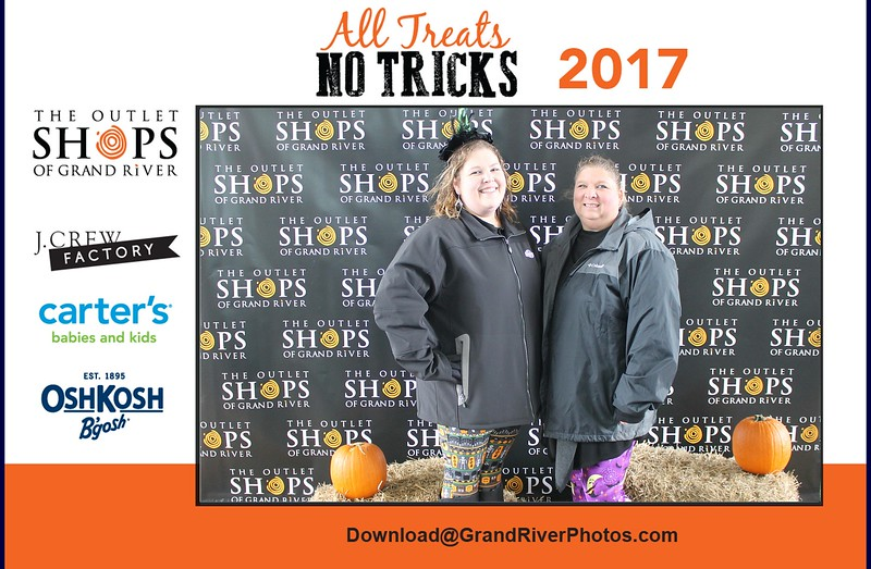 Outlet Shops of Grand River Halloween 2017