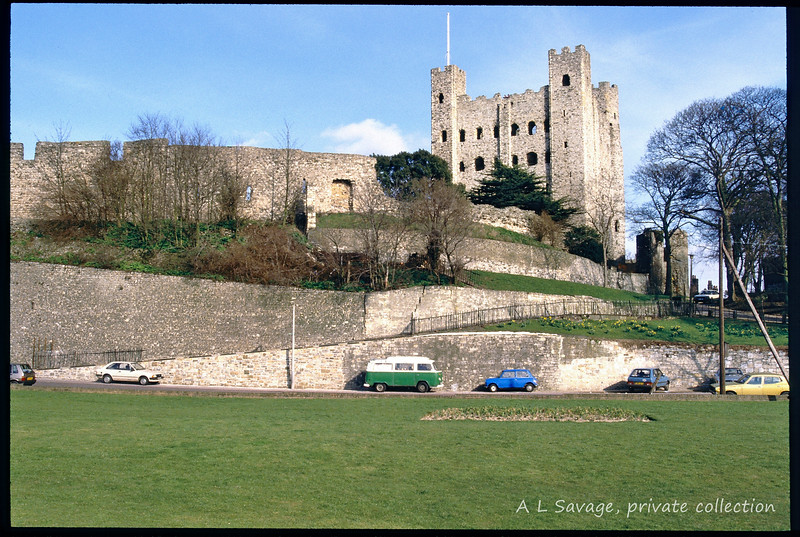 Rochester Castle May 1986