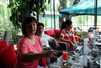Wenjie's ex-colleagues