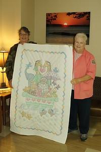 Grandma White's Baby Quilt