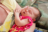 Baby Morgan in the arms of Mimi...AKA Jenny.