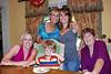 Mimi, Sean, Grandma Ann, Mommy, and Granny