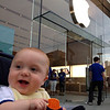 should we visit the Apple store on their first day at this mall?