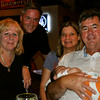 Fun night with delicious food, beverages and love for Edison...Linda, Scott, Karina, Jerry and the star:  Edison Faye.