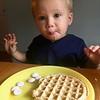 Surprise!  The yogurt dots are pretty good.  Yum!