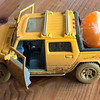 Oli's orange truck