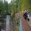 Castlegar visitors 05 vert pan (Brandywine Falls)