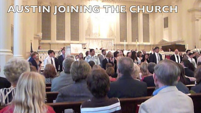 Austin's Joining the Church 5-1-11 VIDEO