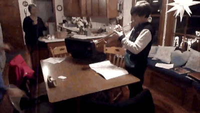 Collin on the Trumpet 12-12-11 VIDEO