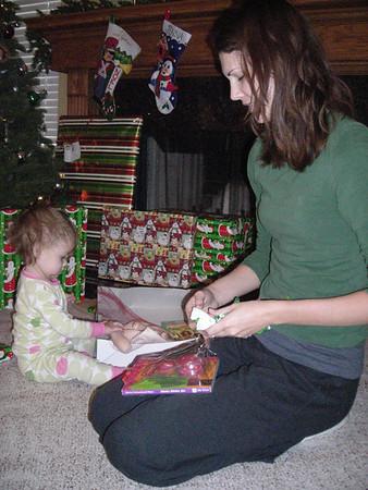 Audrey & Claire Christmas 2009