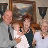 Happy grandparents and great grandparents.....