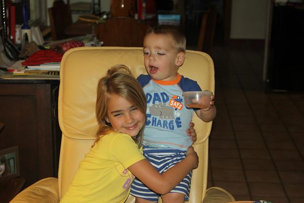 Allison and Grayson
