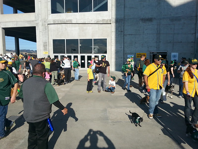 A's Game 18 July 2014