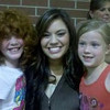 Ashley with American Idol Star from Stokesdale, NC