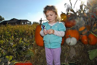Grandma & Grandpa visit Utah to see Audrey & Claire - October 2009