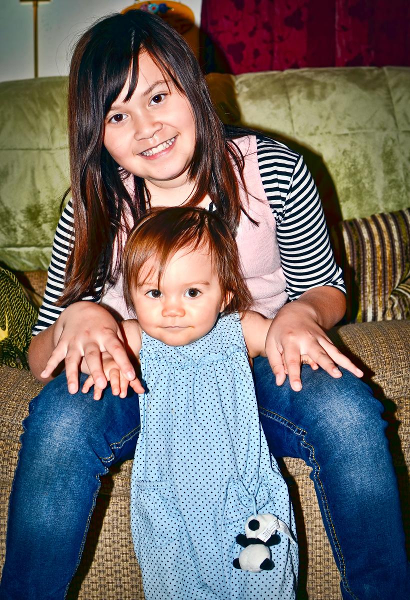 Ava & Halie March 2011
