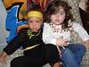 Cousins...Aysha and Layla
