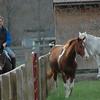 The rider, Lindsey next door neighbor.