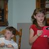 Brooke still reading and Dalton getting MORE BORED!