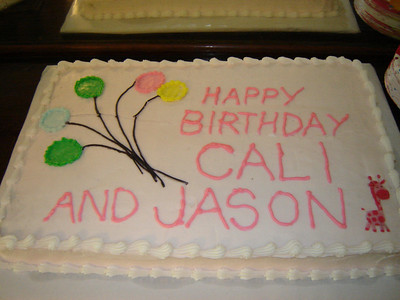 Not only was it Cali's Birthday, Her Dad, Jason has the same Birth Date