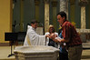 Owen's Baptism at St. Bens Church