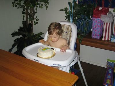 Joshua's first Birthday