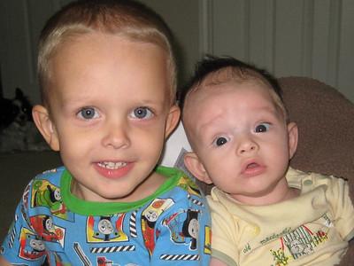 Blaine and Evan
