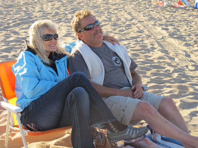 Jill and Tim @ Bolsa Chica Beach