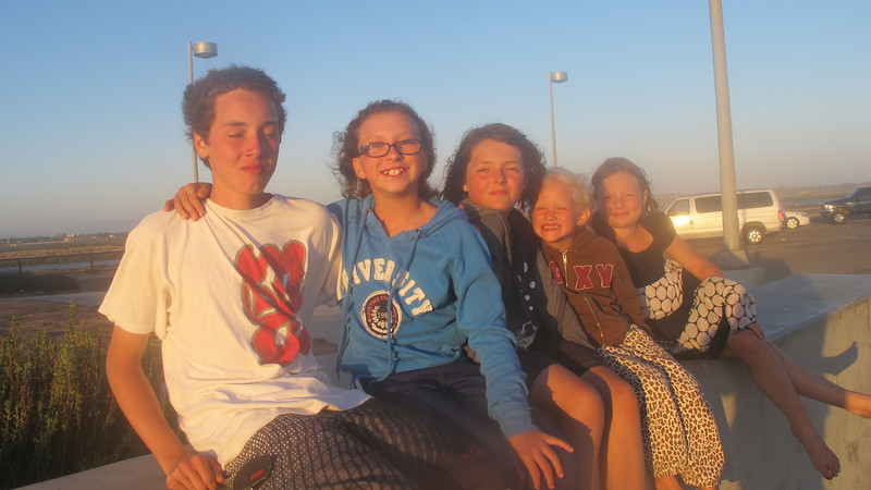 David, Parker, Eleni, Shay, Dani (my favorite)