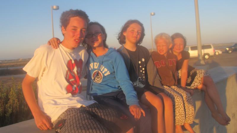 David, Parker, Eleni, Shay, and Dani