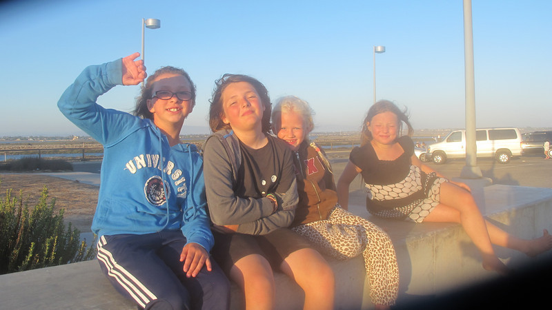 Parker, Eleni, Shay and Dani