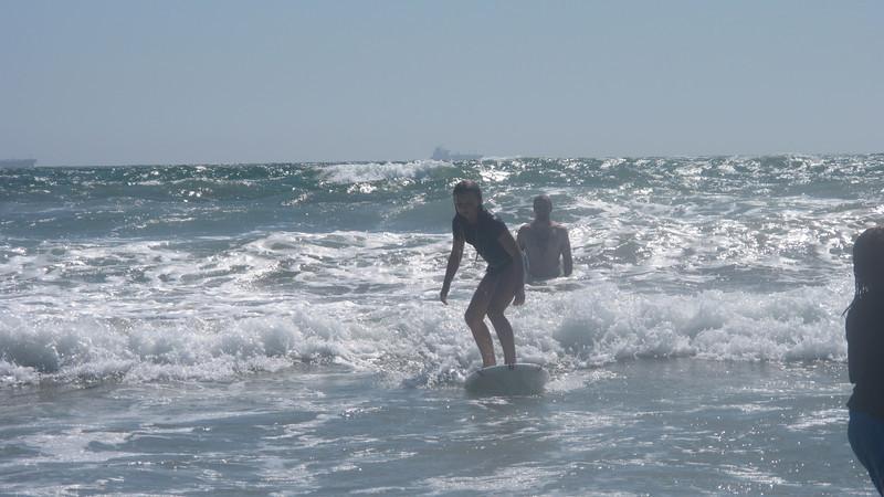 Parker surfing