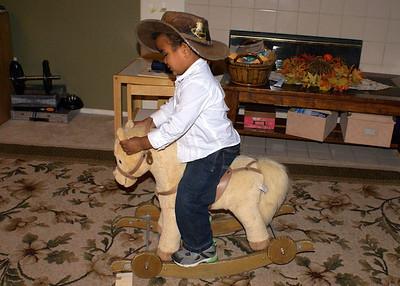 Cowboy on the range.