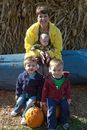 Boys at Grandma's