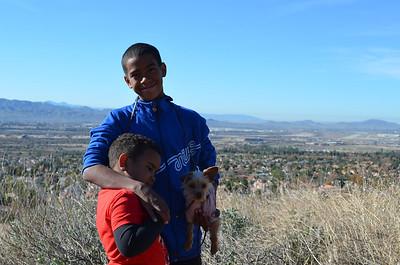 Boys on Hike