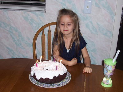 Brenna's Birthday 2008