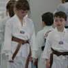 Brooke and Dalton with their Brown Belts 2/4/09.