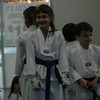 Brooke and Dalton Blue Belt with Brown stripe.