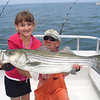 Brooke's fish with Capt. Jeff Adam's.