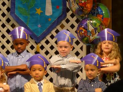 Cade Preschool Graduation 2015