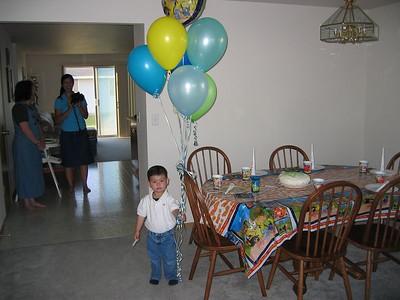 Calebs birthday