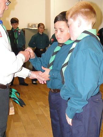 2013 Scout Enrolmernt