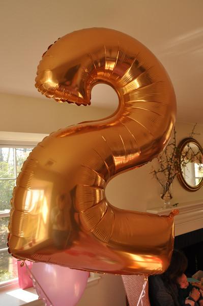 Caroline 2nd Birthday Party 2-23-13