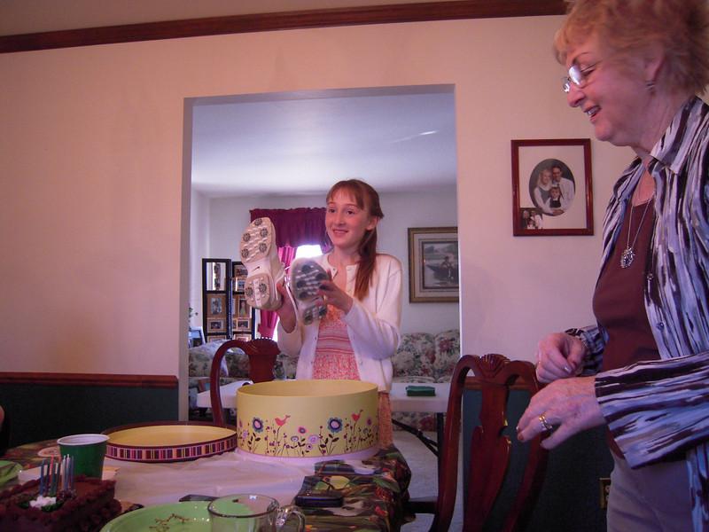 Birthday gift from Grandpa & Grandma Miller